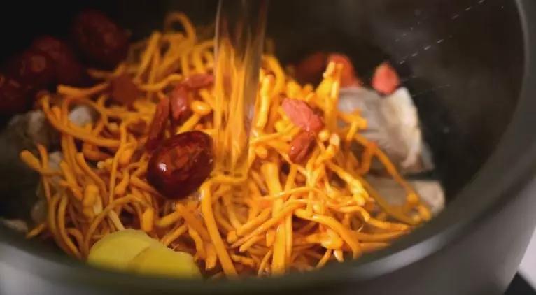 虫草花排骨汤的简单做法