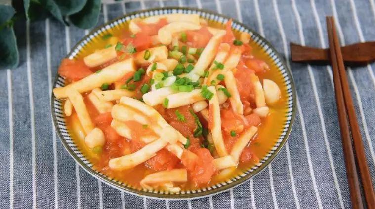 番茄海鲜菇怎么做