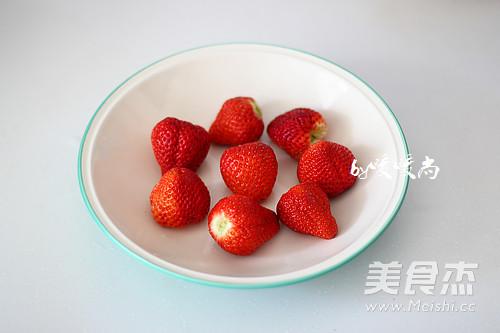 草莓大福的做法图解