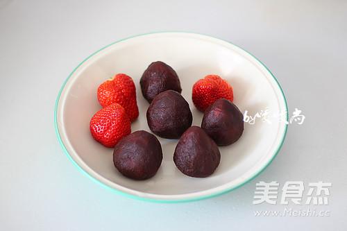 草莓大福的简单做法