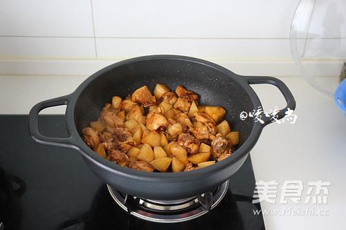 咖喱鸡块的简单做法
