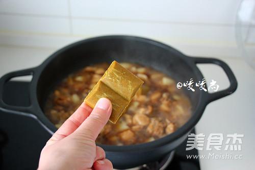 咖喱鸡块怎么吃