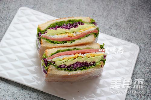 牛油果三明治怎么煸