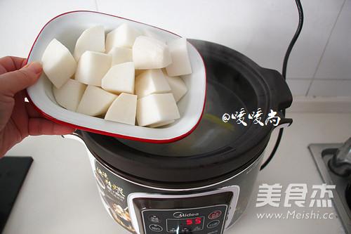 白萝卜羊骨汤怎么做