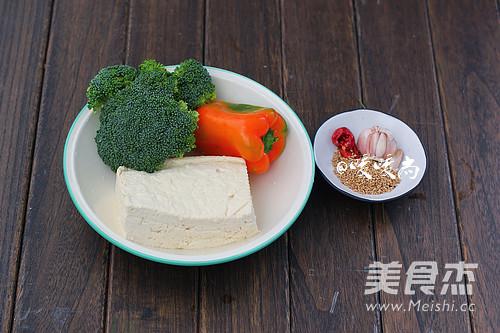 蚝油西兰花烧豆腐的做法大全