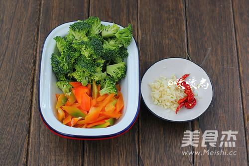 蚝油西兰花烧豆腐的家常做法