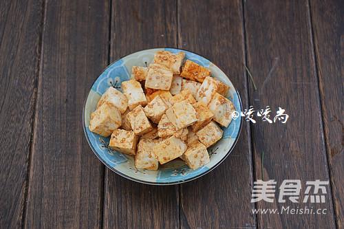 蚝油西兰花烧豆腐的做法图解