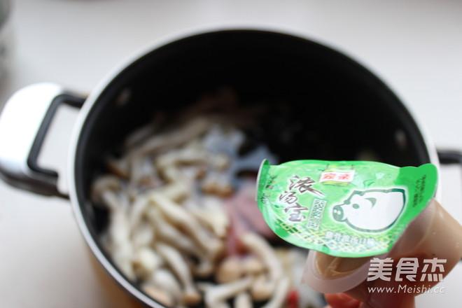 菌菇火锅汤底的简单做法