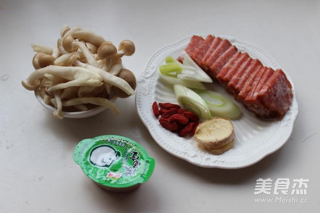 菌菇火锅汤底的做法图解