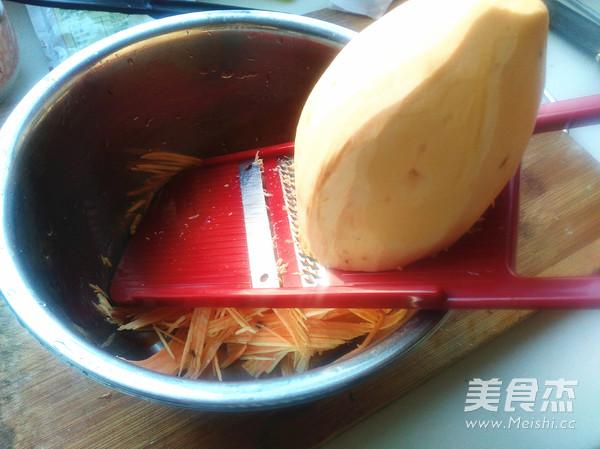 红薯丝饼的家常做法