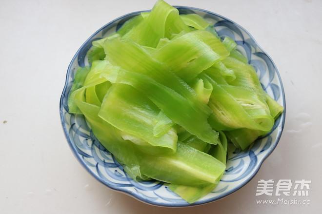 葱香莴苣卷怎么吃