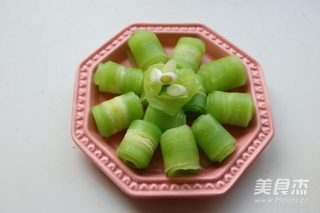葱香莴苣卷怎么做