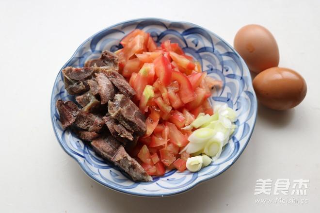 番茄牛肉米线的简单做法