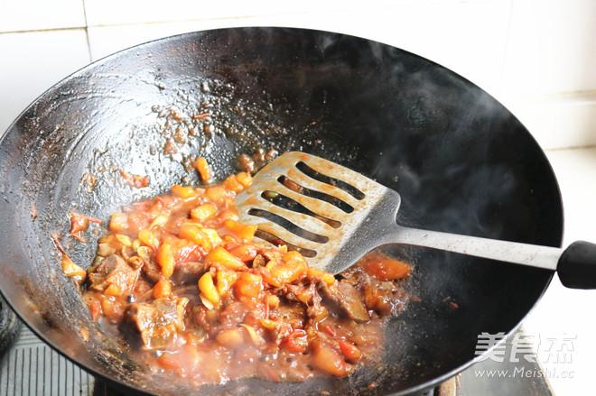 番茄牛肉米线怎么炒