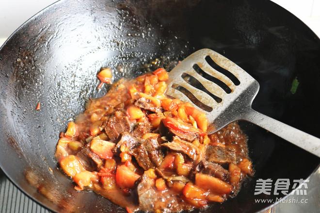 番茄牛肉米线怎么做