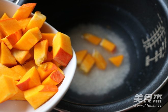 南瓜粥的简单做法