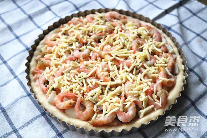 北极虾披萨怎样煸