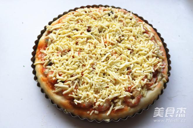 北极虾披萨怎样炒