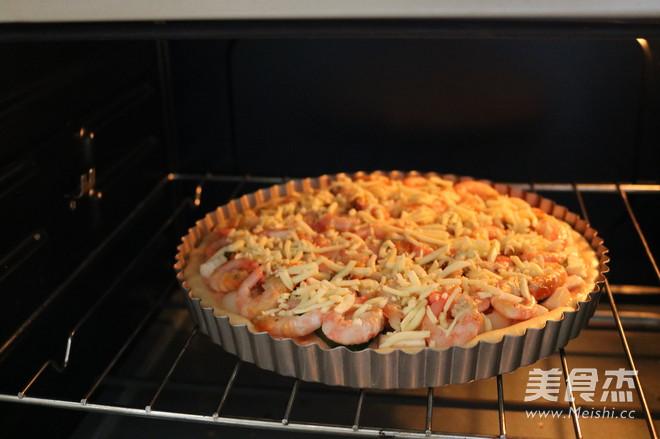 北极虾披萨怎样做