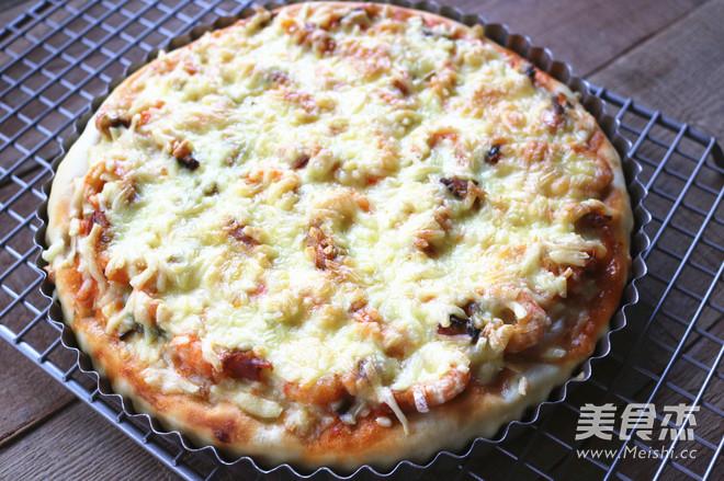 北极虾披萨怎样煮