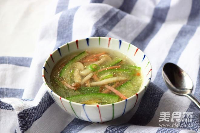 丝瓜蘑菇汤怎么煮
