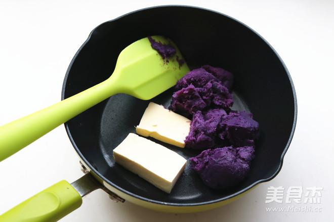 香酥粒紫薯麻花面包怎么做