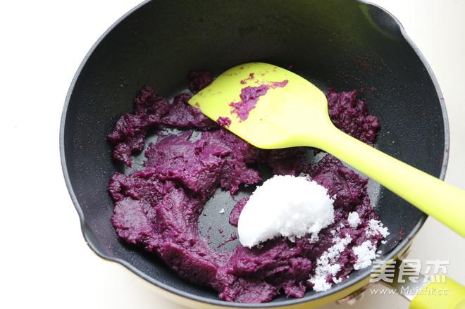 香酥粒紫薯麻花面包怎么煮