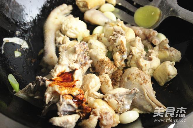 香菇炖鸡的简单做法