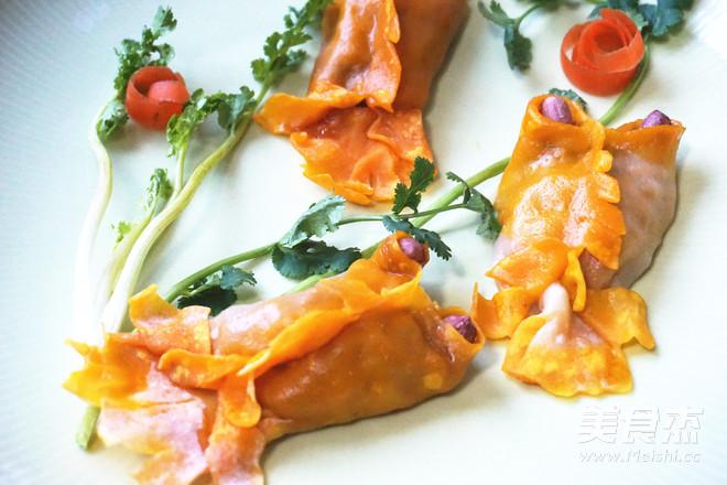 年年有余金鱼蒸饺的制作