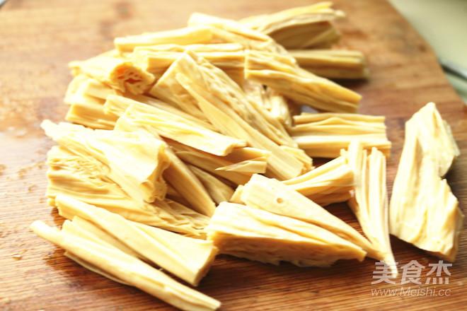 黄瓜拌腐竹的做法图解