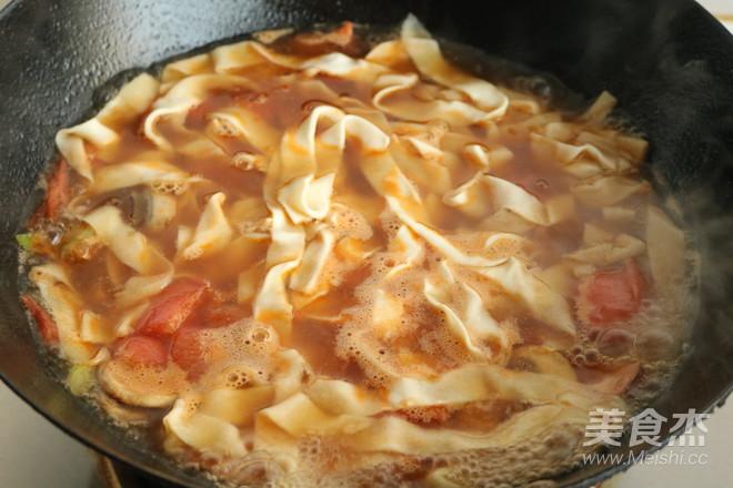 快手热汤面怎样做