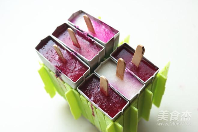 火龙果酸奶冰棍的制作方法
