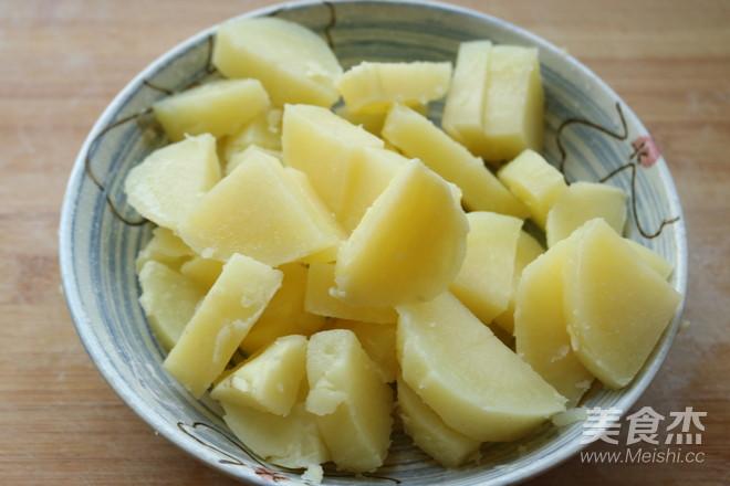 椒盐土豆块怎么吃