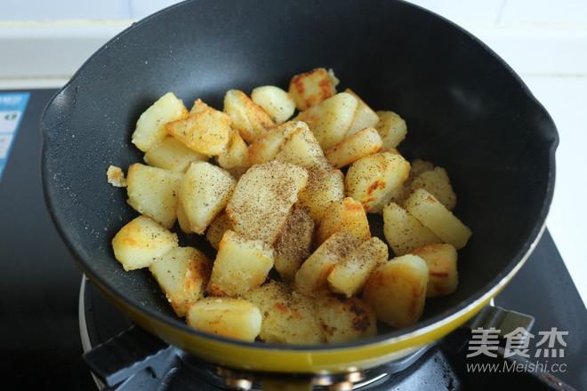 椒盐土豆块怎么炖