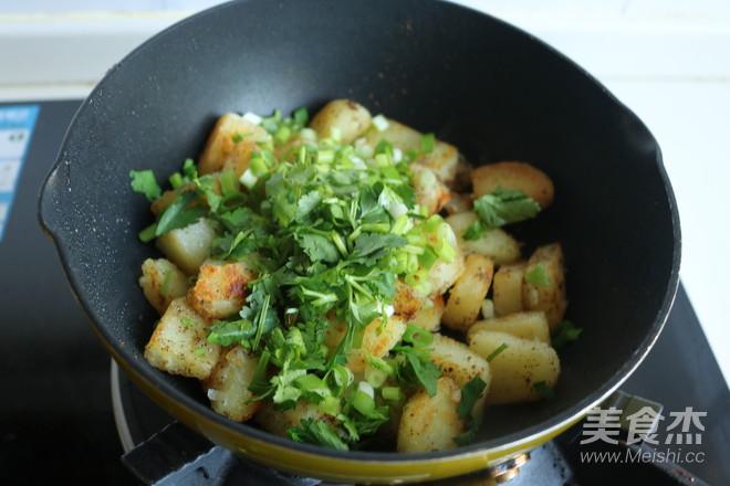 椒盐土豆块怎么煸