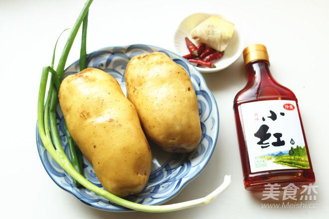 红油土豆丝的步骤