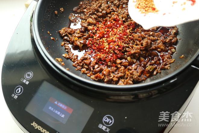 牛肉香菇酱拌面怎样做