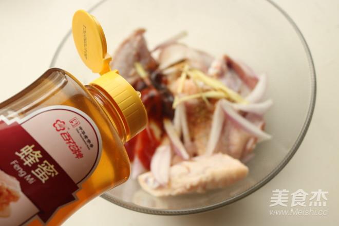 蜜汁烤翅中的简单做法