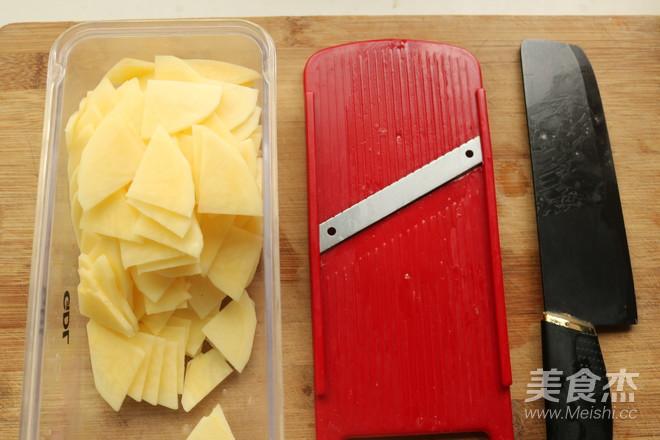 酸辣土豆片的做法图解