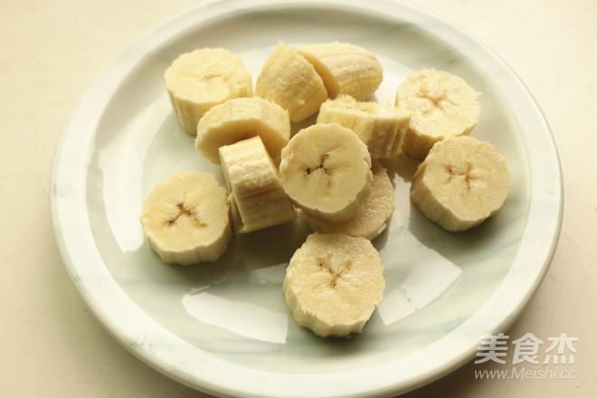 蜂蜜香蕉牛奶的做法图解