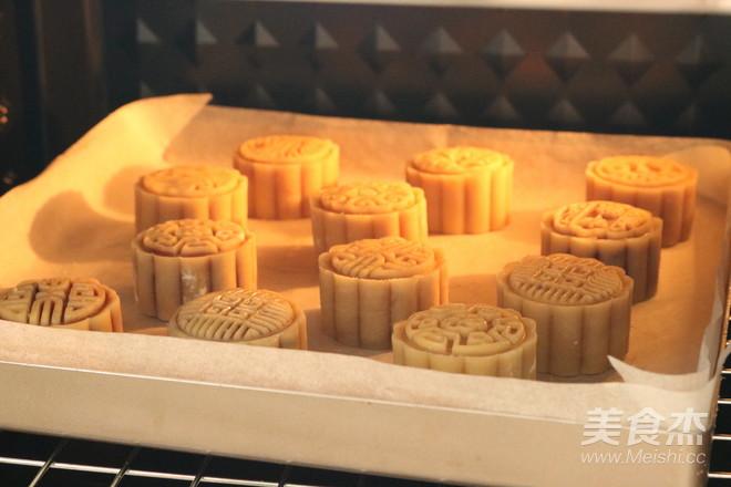 广式蛋黄月饼的制作方法
