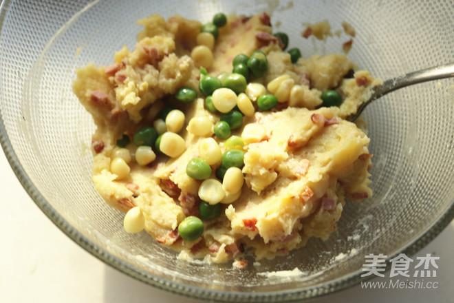 圣诞派对香肠土豆泥沙拉#早餐#的步骤