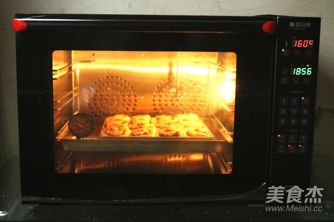 肉桂苹果卷的制作