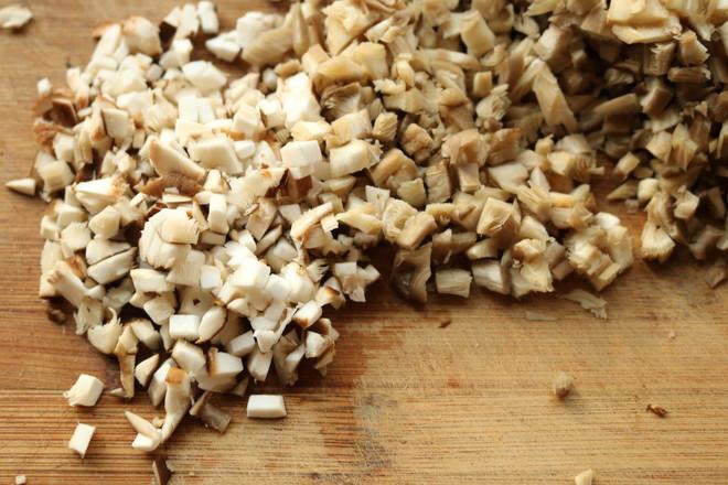 双菇虾仁馄饨的简单做法