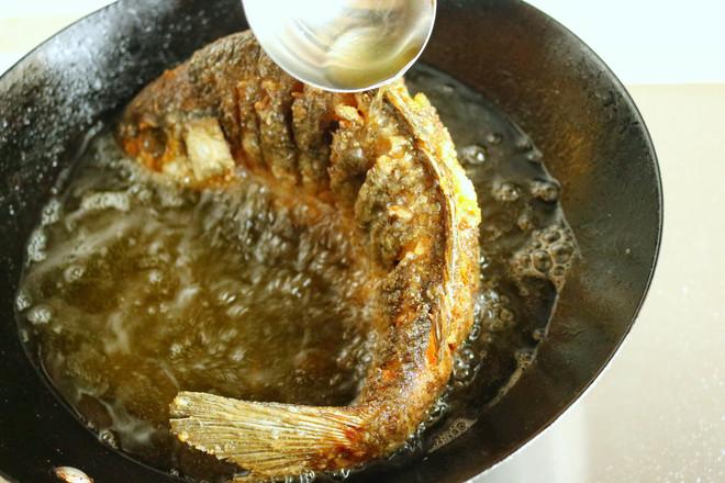 糖醋鱼的简单做法