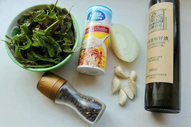 香椿青酱意面的简单做法