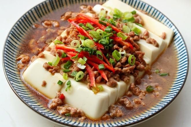 肉末蒸豆腐怎么煸