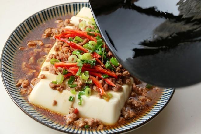 肉末蒸豆腐怎样煸