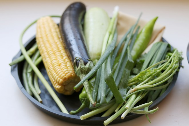 烤蔬菜全家福的做法大全