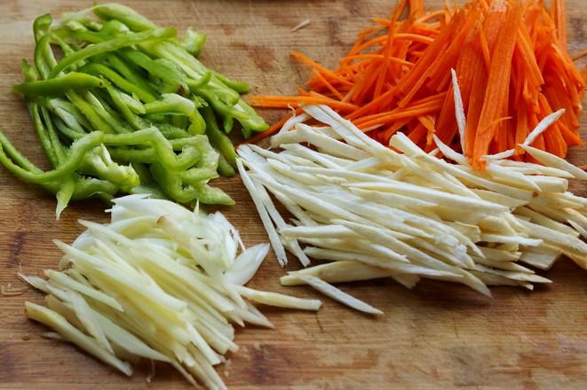 喷香蔬菜炒面的家常做法